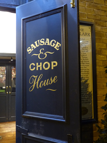 sausage and chop House