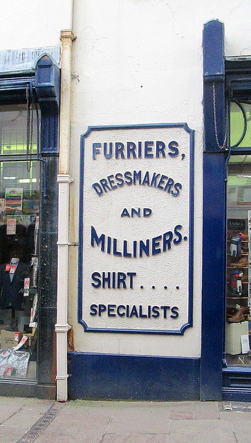Old Style Shop Lettering, Penrith