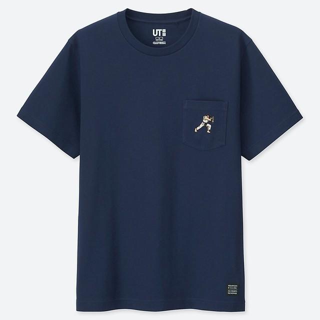 《快打旋風》×Uniqlo「UT」合作印花T恤(ザ・ゲーム バイ ストリートファイター UT」04 月 15 日於日本發售!