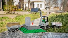 Lego mit dem du Begräbnisse nachspielen kannst