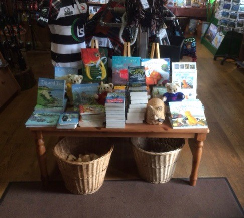Bookshop in Tobermory