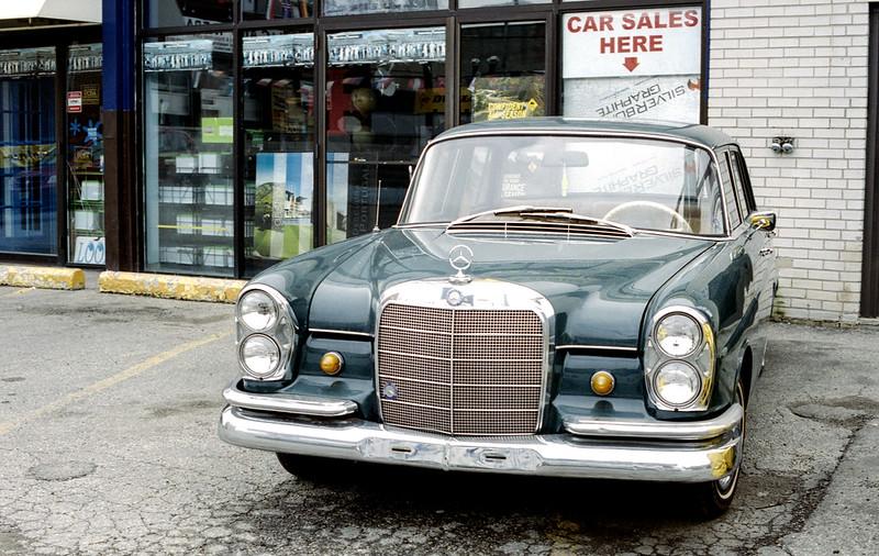 Vintage Mercedes Sedan