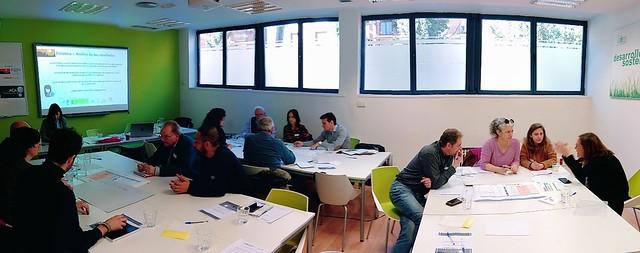 Primer taller en Madrid del ciclo de talleres de Pobreza energética y olas de calor en zonas urbanas