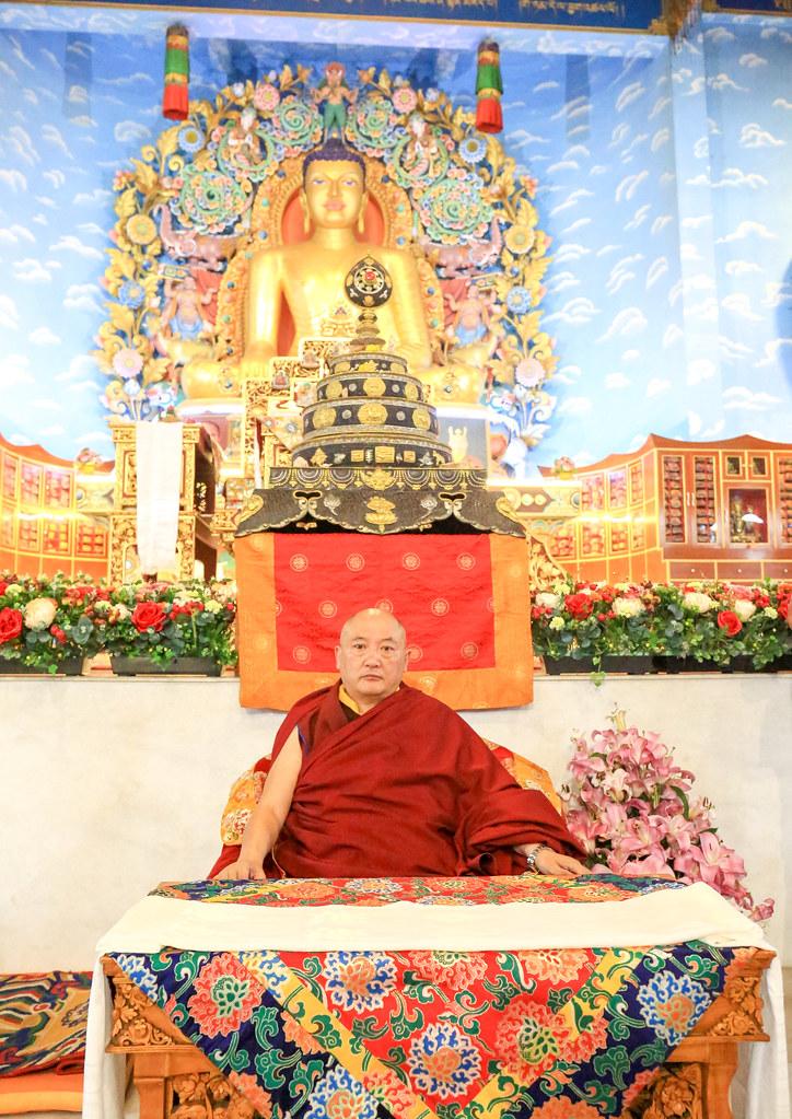20190117_Audience for gurusevakas and Friends of Kagyu Monlam