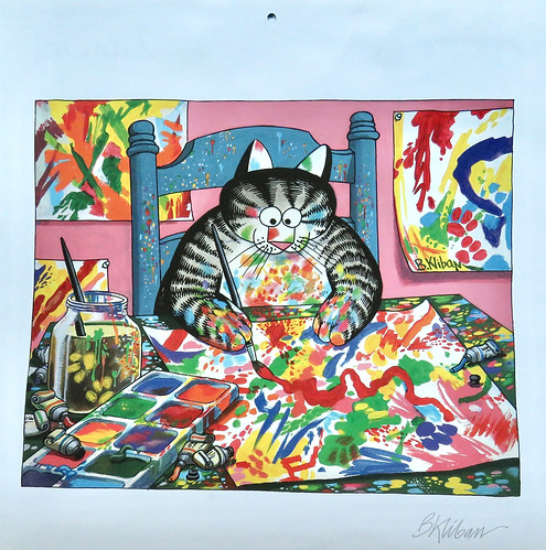 Artistic Cat for February