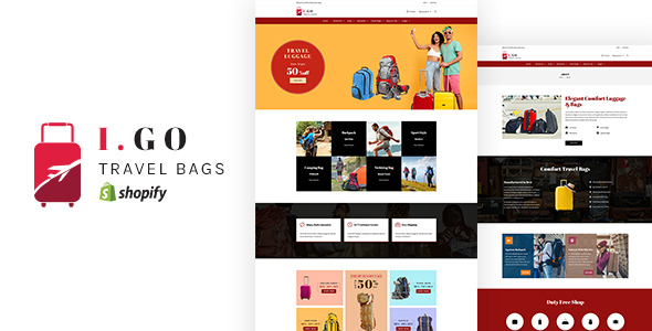 Igo v1.0 - Travel Bags Shopify Theme