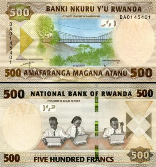 500 Frankov Rwanda 2019, P42