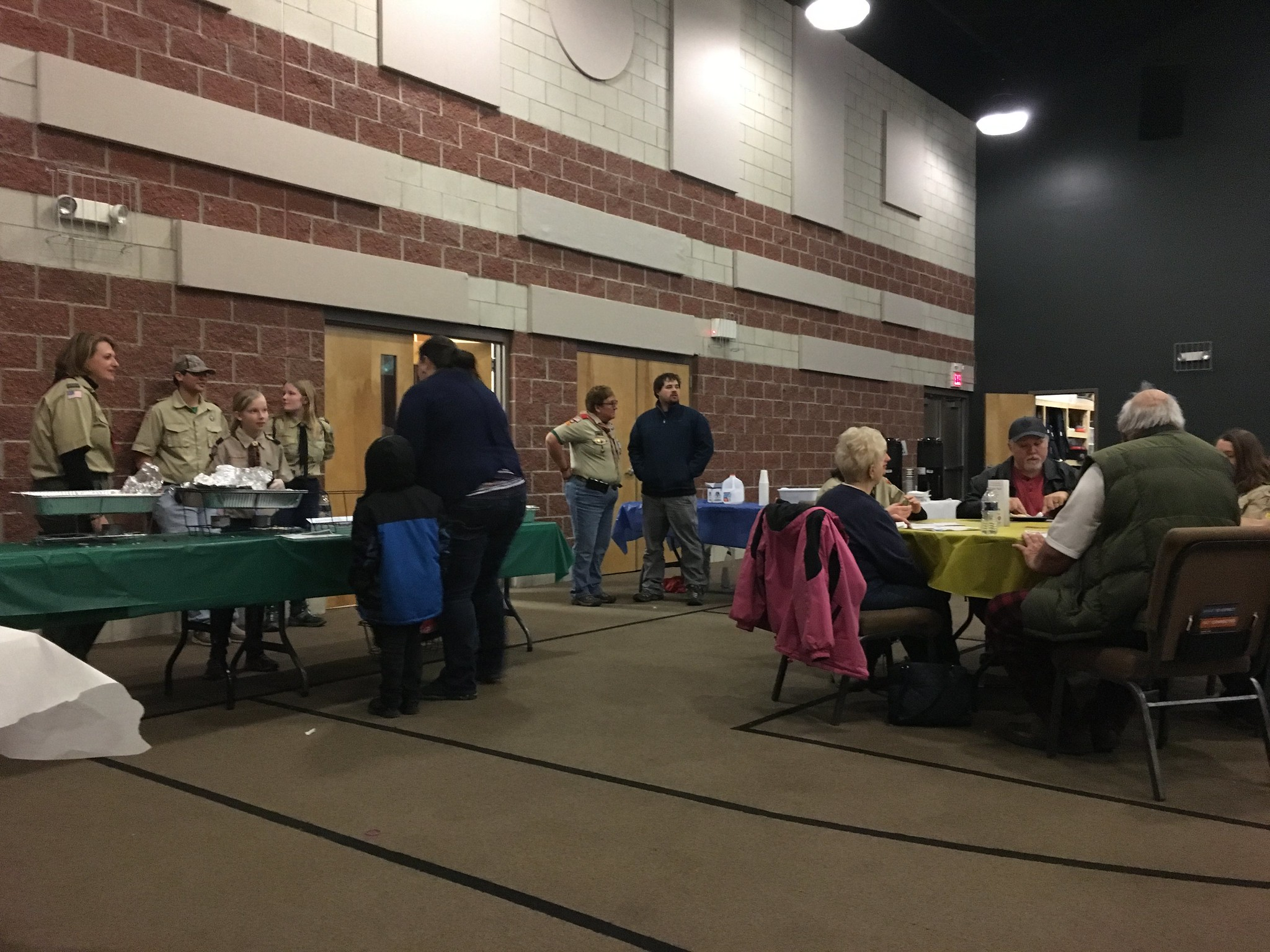 Residents Attend 3rd Annual Pancake Breakfast Supporting Local Scouts
