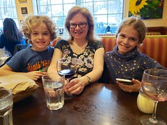 Sue & The Kids At Dinner