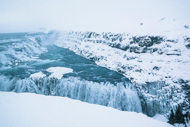 Gulfoss-Wasserfall
