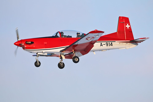 Pilatus PC-7 A-914 Swiss Air Force