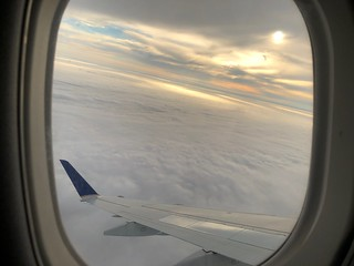 Sunshine on Clouds, EWR-DCA | by brownpau