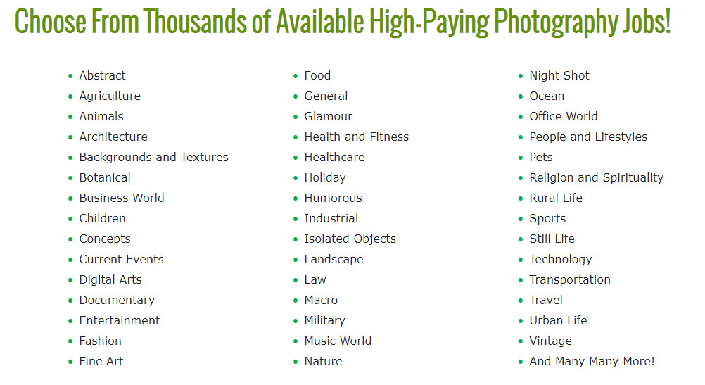 Photography Jobs Online Review