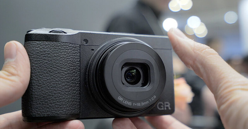 RICOH GR III Hands-on videos from CP+ 2019