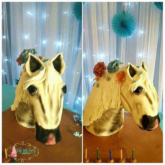 Horse Cake by Cake Me Away Arizona