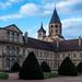 Cluny, batiment conventuel et le clocher de l