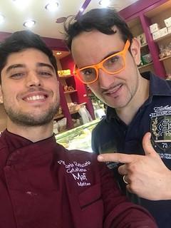 Matteo Radogna con Davide Malizia
