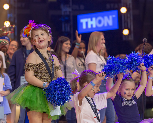 Four Diamonds families at THON 2019