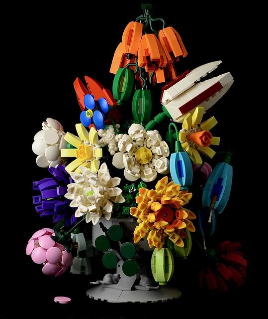 LEGO Still Life Flowers