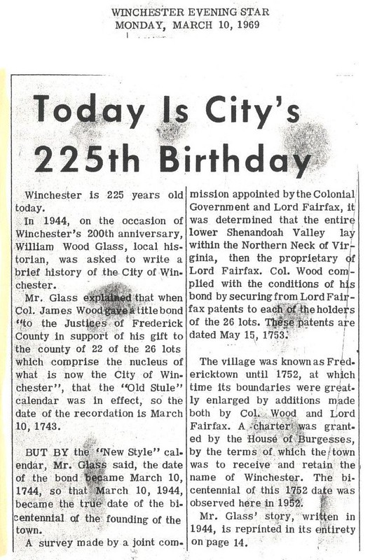 City's 225th Birthday