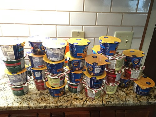 Instant stockpiling
