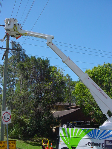 Energex | Pole works | Nerang