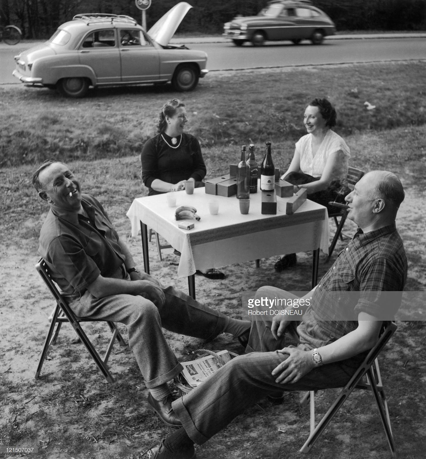 1954. Летний отдых