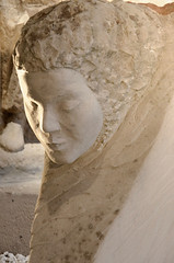 Sculpture de femme