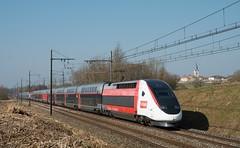 TGV Euro Duplex 3UA 4719 en UM - Photo of Montracol