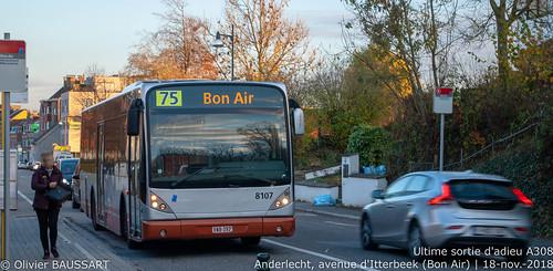STIB 8107 - Ligne 75