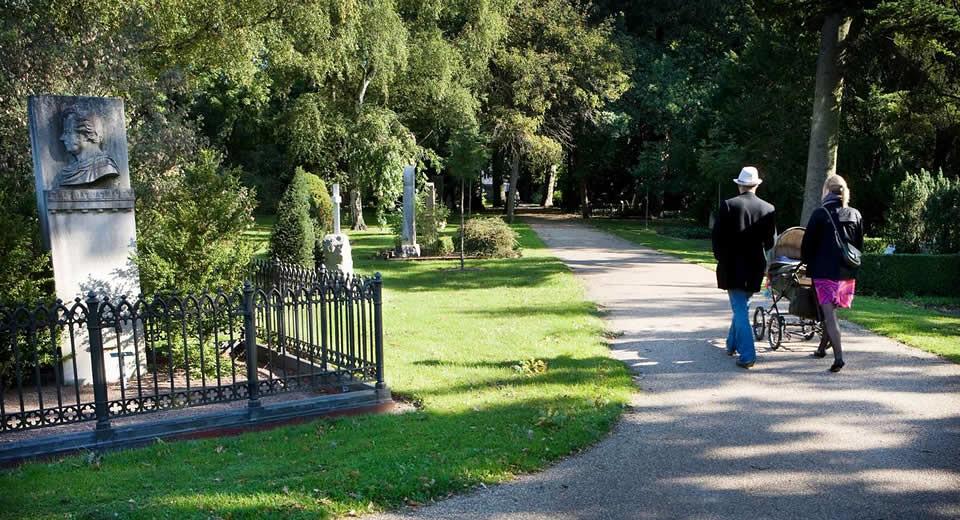 Onbekende bezienswaardigheden Kopenhagen, Assistens Kirkegård | Mooistestedentrips.nl