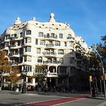 Image of Casa Milà. antonigaudí barcelona casamilà catalunya lapedrera modernisme