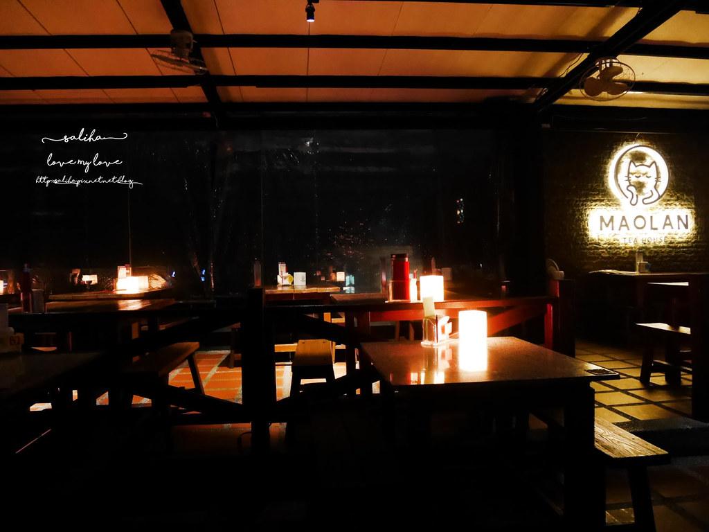 台北看夜景景觀餐廳咖啡貓懶MAOLAN餐點下午茶 (13)