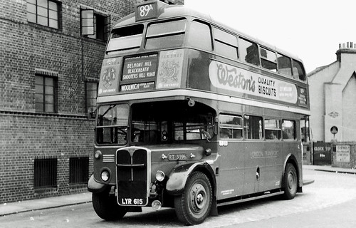 RT3396 at the Rennell Street stand in Lewisham working Route 89A