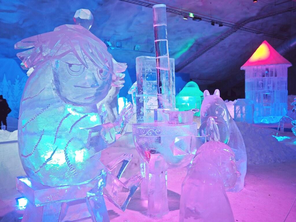 muumi jääveistokset leppävirta