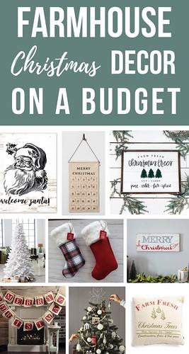 DIY Home Decor : Farmhouse Christmas Decor On A Budget