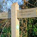 To the bridleway