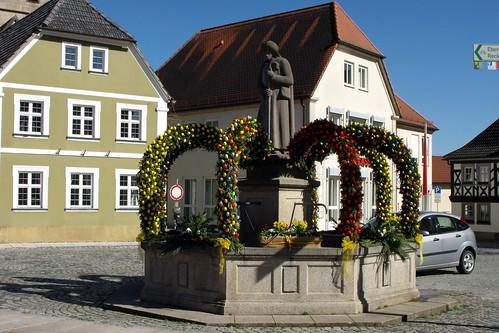 Baunach, Osterbrunnen