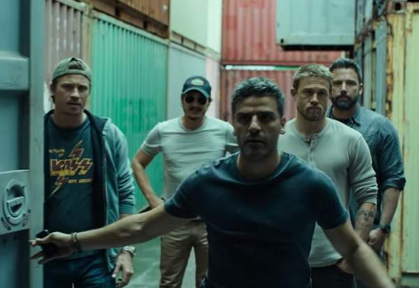 Triple Frontier filming location