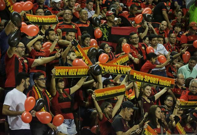 9ccf3021f3dc3 Torcida do Leão é apaixonada pelo time - Créditos: Williams Aguiar/Sport  Club do