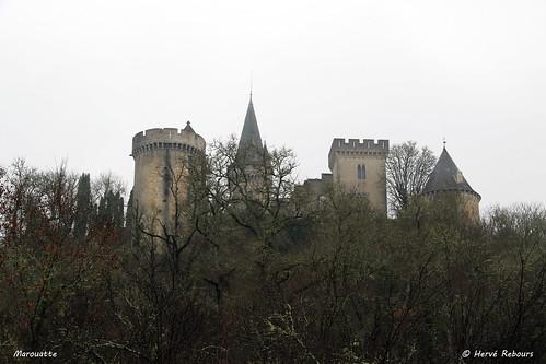 24 Grand-Brasac - Marouatte Château XIII XIX