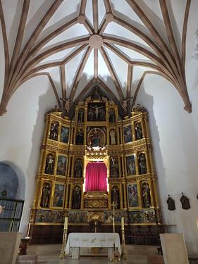Iglesia de Santa Catalina - Retablo mayor