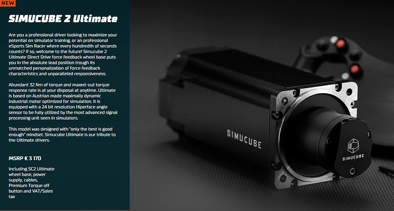 SimuCube 2 Ultimate
