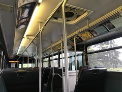 King County Metro 1996 Gillig Phantom interior (3302)