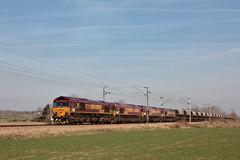 EMD 968702-249 - JT42CWR - ECR 66249 / Steenbecque - Photo of Aire-sur-la-Lys