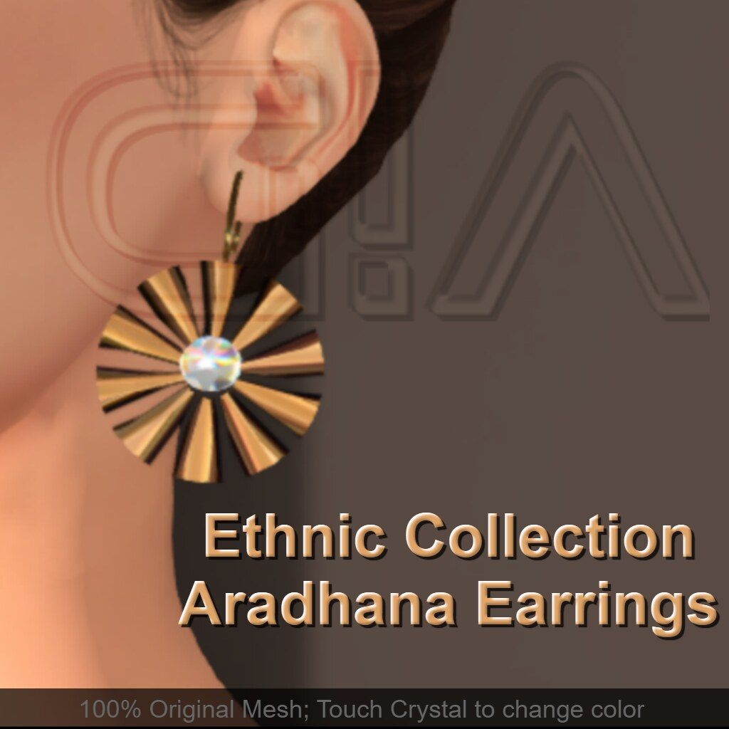 Aradhana Earrings Vendor - TeleportHub.com Live!