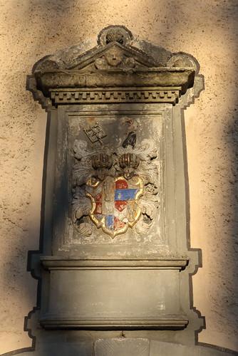 Niederfüllbach, Schlosskirche, Schaumberger Wappen
