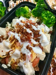 FitEx Meals Chicken Bacon Ranch Bowl Meal Prep