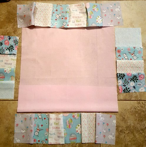 Easter Bunny Mini Quilt 4