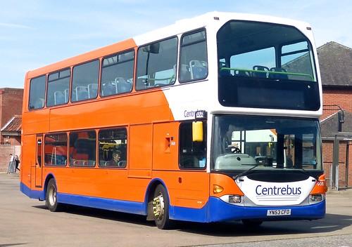 YN53 CHF 'Centrebus' No. 905. Scania N94UD / East Lancs. on Dennis Basford's railsroadsrunways.blogspot.co.uk'